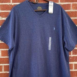 NWT Polo Ralph Lauren Vneck T-shirt 1XB
